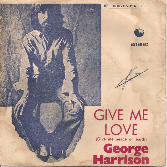 give me love give me peace on earth: