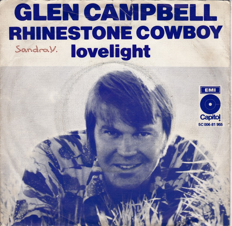 glen campbell catholic singles Glen campbell, 'rhinestone cowboy four of campbell's singles reached country music's top 10 in 1970, but his sales domination began to subside in the new decade.