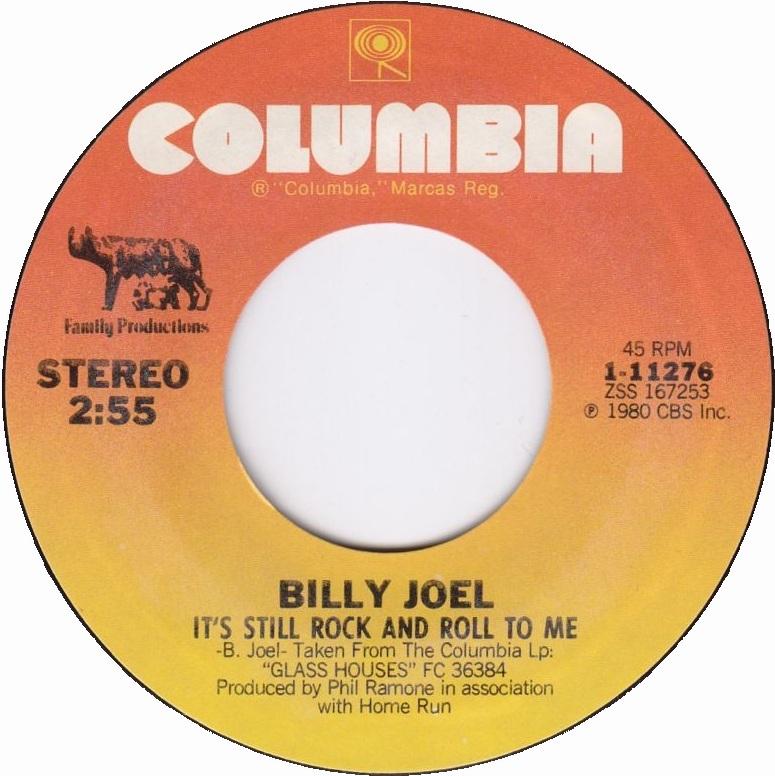 billy joel its still rock Letra de la canción it's still rock and roll to me de billy joel traducida al español letras y traducciones en castellano.