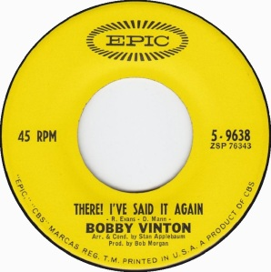 bobby-vinton-there-ive-said-it-again-1963