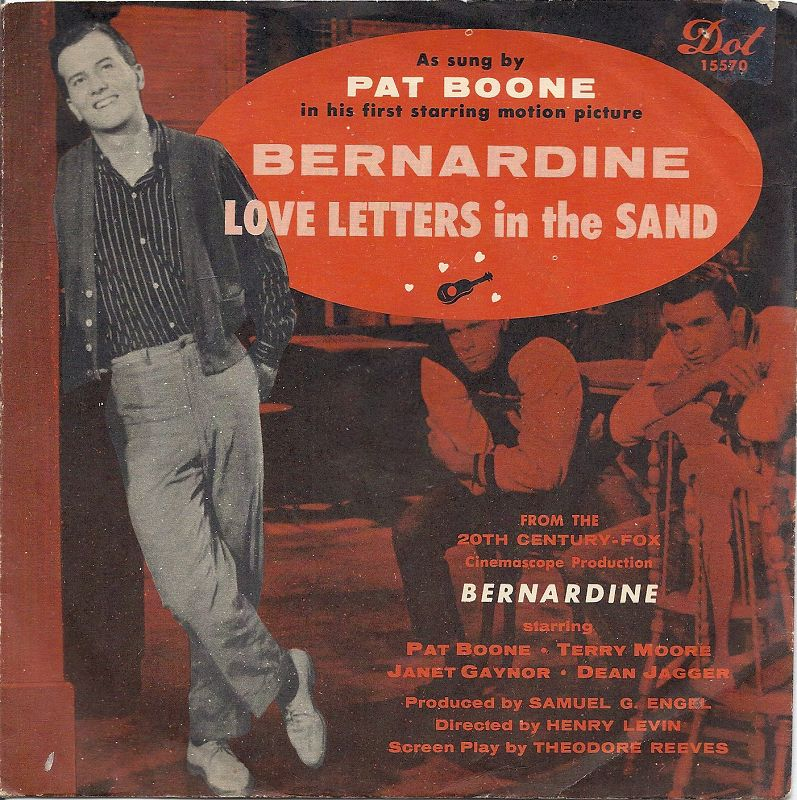 Pat Boone Love Letters In The Sand 1957